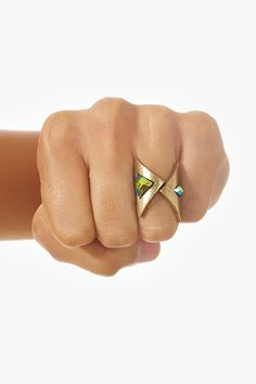 Wrapped Arrow Ring.  Vintage feel, really pretty.
