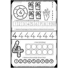 Numbers For Kids, Numbers Preschool, Preschool Printables, Abc Crafts, Kids Math Worksheets, Primary Maths, Book Corners, Simple Math, Stem Science