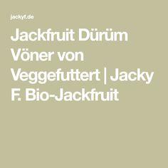 Jackfruit Dürüm Vöner von Veggefuttert | Jacky F. Bio-Jackfruit