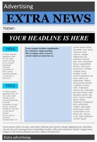 Free Templates to Create Newspapers for your Class ~ Educational Technology and Mobile Learning