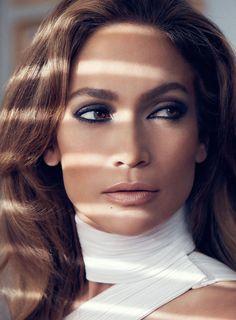 Jennifer Lopez by Txema Yeste for Elle UK October 2014