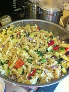Cook Eat Live Love: Best Ever Greek Pasta Salad