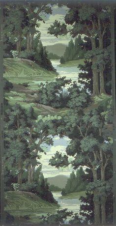 American wallpaper, 1936-56