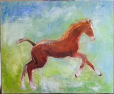 Foal Oil on canvas Feb 2017