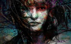 yossi orginal art  layers of illusion giclee by yossikotlerart