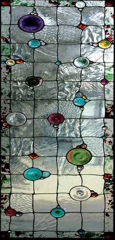 glass panels Gem Stained Glass - Stained Glass and Leaded Glass - DesignScapes® - Decorative Fluorescent Light Covers Stained Glass Designs, Stained Glass Panels, Stained Glass Projects, Stained Glass Art, Stained Glass Patterns Free, Leaded Glass Windows, Stained Glass Suncatchers, Window Glass, Window Art