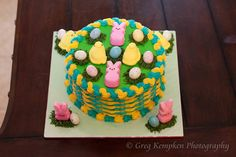Easter cake by Buttercream Wishes