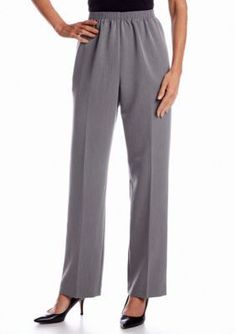 Alfred Dunner  Petite Manhattan Skyline Collection Proportioned Pull O