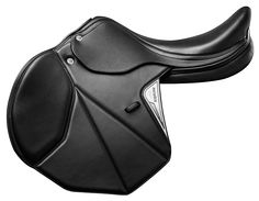 This saddle has a medium-deep seat and separate panels padded with heat-sensitive fibres with memory or in soft synthetic T-Flex material.