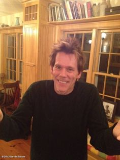 Kevin Bacon's photo: I say MORE BACON,LESS SPAM! Kyra Sedgwick, Filme Footloose, Kevin Bacon, Special Guest, Spam, Beautiful Men, Tv Shows, Celebrities, Actor