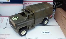 NOT GI JOE - but I had one of these trucks - still do actually :)  3 3/4 Processed Plastic Military Truck Troop Transport Made in USA 1980s