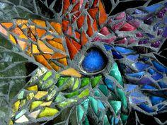 Rainbow Starflower Mosaic Mandala