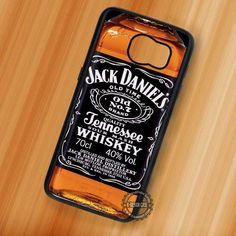 Whiskey Jack Daniels Supernatural - Samsung Galaxy S7 S6 S5 Note 7 Cases & Covers
