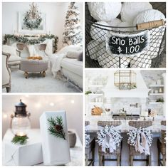 Modern and Boho Christmas Style feature elements of scandi-chic Christmas style design; and the mix is a fun eclectic way to decorate for Christmas. Snowy Christmas Tree, Natural Christmas, Christmas Tree Themes, Silver Christmas, Plaid Christmas, Christmas Fashion, Rustic Christmas, Christmas Stuff, Christmas Holidays