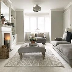 Home Interior Salas .Home Interior Salas Living Room Goals, New Living Room, Interior Design Living Room, Home And Living, Living Room Designs, Living Room Decor, Cosy Living Room Grey, Interior Livingroom, Victorian Living Room