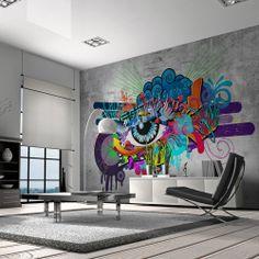 Vlies Tapete ! Top ! Fototapete ! Wandbilder XXL ! 300x210 cm - Graffiti 10110905-10: Amazon.de: Küche & Haushalt