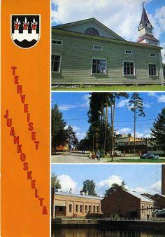 Terveiset Juankoskelta #Maisemakortit #Postikortit #Juankoski #matkailu #Suomi #Finland Finland, Country, Rural Area, Country Music