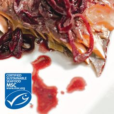 Try this recipe for Warm Poached Salmon in Red Wine Sauce! We have the sustainably fished, Marine Stewardship Council certified salmon you'll need at any Market Street seafood counter.