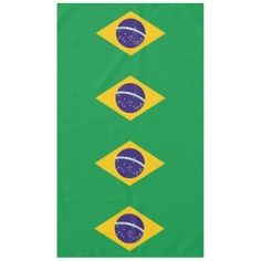 Brazil flag Brazilian table cloth