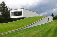 slope green roof - Google 검색