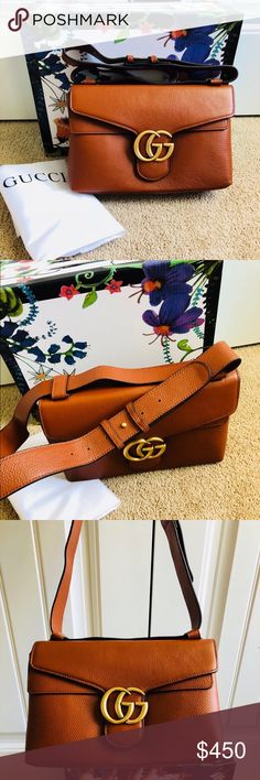 cce5e6c06e9 Shop Women s Gucci Brown size OS Shoulder Bags at a discounted price at  Poshmark. Description  New brown shoulder bag High quality. Not authentc