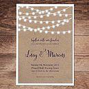 Nightgarden Wedding Invitation And Stationery