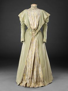Tea gown, late 1890′s From the John Bright Historic Costume Collection