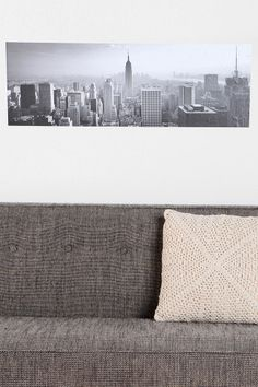 Another possibly necessary decoration...New York City Wall Decal $29, #UrbanOutfitters