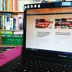 Laptop - praca z domu. Copywriter, Laptop, Electronics, Instagram, Laptops