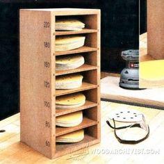 The RunnerDuck Sandpaper Storage, step by step instructions ...