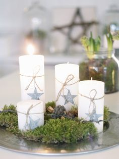 Love these for an Advent wreath