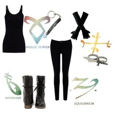 Shadow Hunter by sarybets on Polyvore featuring polyvore fashion style T By Alexander Wang Warehouse