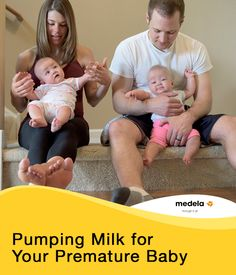 Pumping breast milk for premature baby