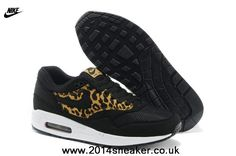 Nike Air Max 1 87 Mens Shoes 2014 New Black LeoPard