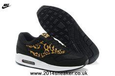 Nike Air Max 1 87 Mens Shoes 2014 New Black LeoPard