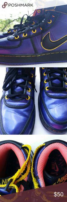 Nike Vandal High Premium Purple Women Shoes Absolutely dope kicks. Slightly worn Nike Shoes Sneakers