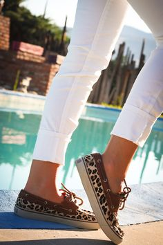 Leopard Sperry's - Twenties Girl Style