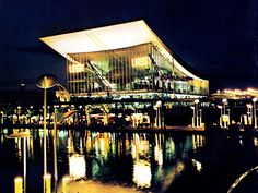 USSR pavilion at night, Expo 67