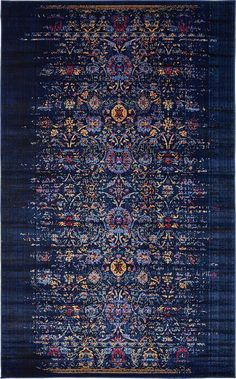 Vintage Contemporary Inspired Overdyed Distressed Rugs Navy Blue x 11 Chelsea Rug Traditional Area Rug Living Room Bedroom Dining Room Carpet Navy Rug, Navy Blue Area Rug, Blue Area Rugs, Living Room Area Rugs, Living Room Carpet, Dining Room, Kitchen Dining, Grey Carpet Bedroom, North Design