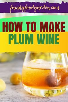 If you have an abundance of plums that you're not sure what to do with, you could try our guide on how to make plum wine. Using sweet plums only will produce a type of dessert wine, and if you'd rather enjoy a more balanced wine, combine sweet and tart plums. We recommend using Yellow, sweet, greengage, or damson plums. For a complete list of supplies, a few winemaking basics, and a delightful recipe, check out our article here. #HowToMakePlumWine #PlumWine #MakeWine #WineMaking Plum Wine, Damson Plum, Types Of Desserts, Abundance, Tart, Dessert Wine, Healthy Fruits And Vegetables, Preserving Food, Wine Tasting