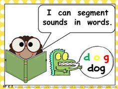 Illustrated, Common Core Standards Posters for Kindergarten Language Arts :)  $