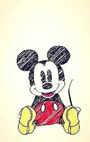 1. i like that its Mickey mouse. 2.like how the draw in siting down happy 3. like how they did they line not colored to tell that he was draw.