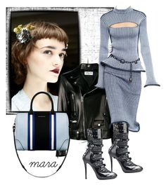 """She looks a bit innocent, but you never know what´s in her mind... :-)"" by marastyle ❤ liked on Polyvore featuring Rodarte, Yves Saint Laurent, Louis Vuitton and Givenchy"