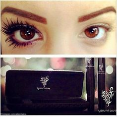 YOUNIQUE 3-D FIBER LASH MASCARA NO MORE FAKE LASHES!  NO MORE GLUE!  NO MORE HASSLE!  GET LONG LUSH LASHES BY JUST PUTTING ON THIS MASCARA!!  WATERPROOF BUT WASHES OFF EASY WITH SOAP AND WATER!! YOUNIQUE Makeup Mascara