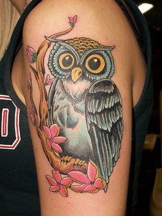 owl tattoos - Google Search