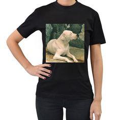 Dogo+Argentino+Laying++Women's+T-Shirt+(Black) High Quality T Shirts, Tool Design, Digital Prints, Comic Books, T Shirts For Women, Cotton, Mens Tops, Shopping, Vizsla