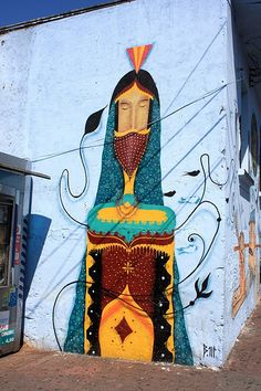 Street art | Mural by Binho Martins