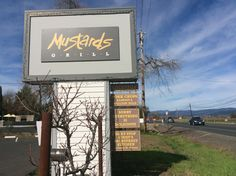 Mustards grille in Napa valley California home to some awesome food