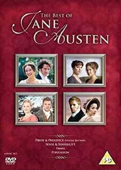 The Best of Jane Austen [Pride & Prejudice / Sense & Sensibility / Emma / Persuasion] [DVD] [2007]