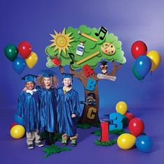 This Colorful Learning Tree Preschool Or Kindergarten Graduation Theme Is A Fun Way For Your Little